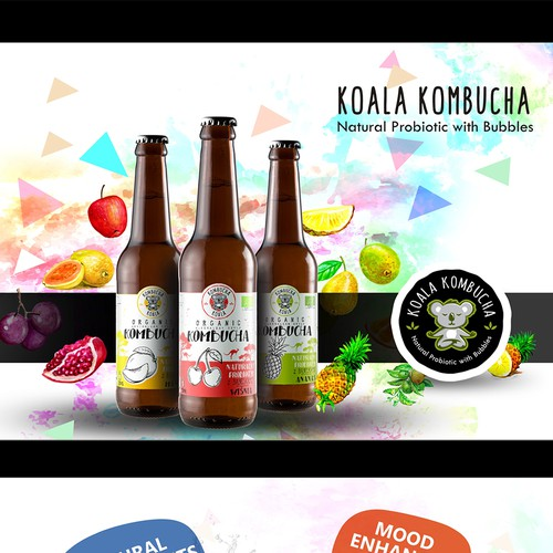 Kombucha producer - business to business booklet