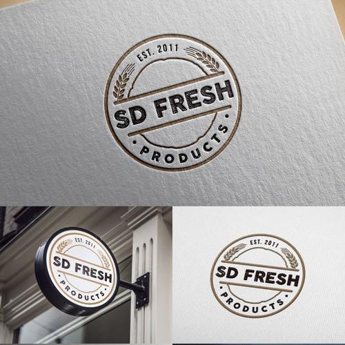 S D Farm Logo