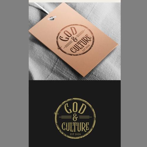 GOD & CULTURE logo design