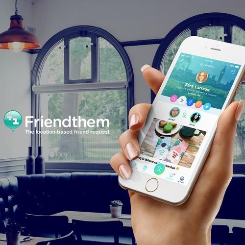 App Design for Social Network