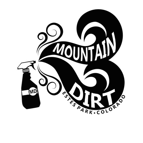 Mountain Dirt cleaning company logo