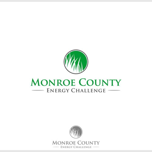 Design a creative logo for a community energy conservation challenge