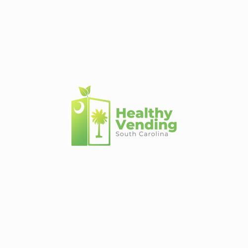 Healthy Vending South Carolina Logo Design