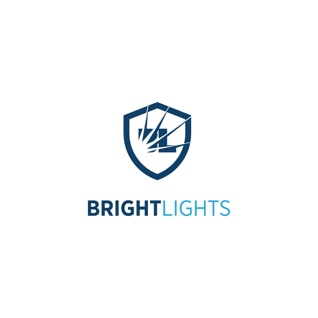 BrightLights needs an intuitive logo and website to fight fraud in finance