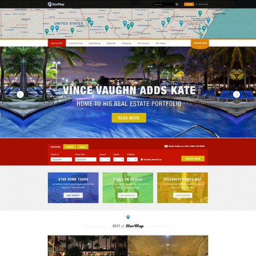 LA Travel & Sightseeing Digital Publisher Website Design