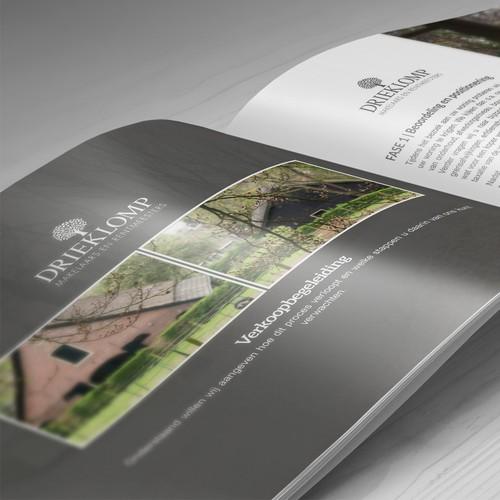Modern Booklet for Drieklomp