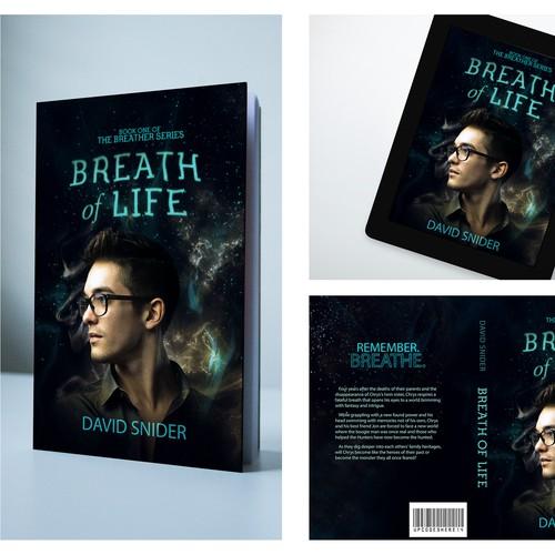 Cover for a YA supernatural modern fantasy novel