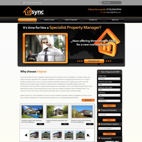 GURU Website Designer wanted by inSync Property!