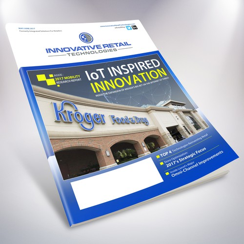 IRT Magazine Cover Design
