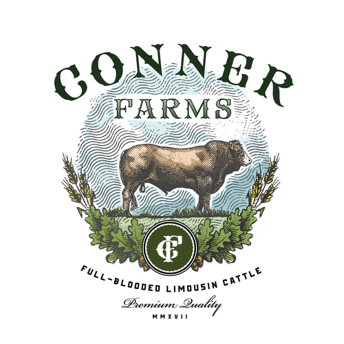 Logo for cattle producer