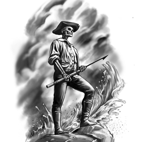 Minuteman skeleton