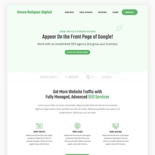 Web Design for Digital Agency