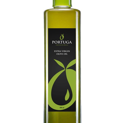 "Creating a Label for the olive oil""Portuga"""