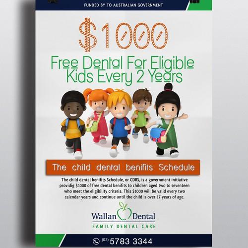 REDESIGN $1000 DENTAL OFFER POSTER