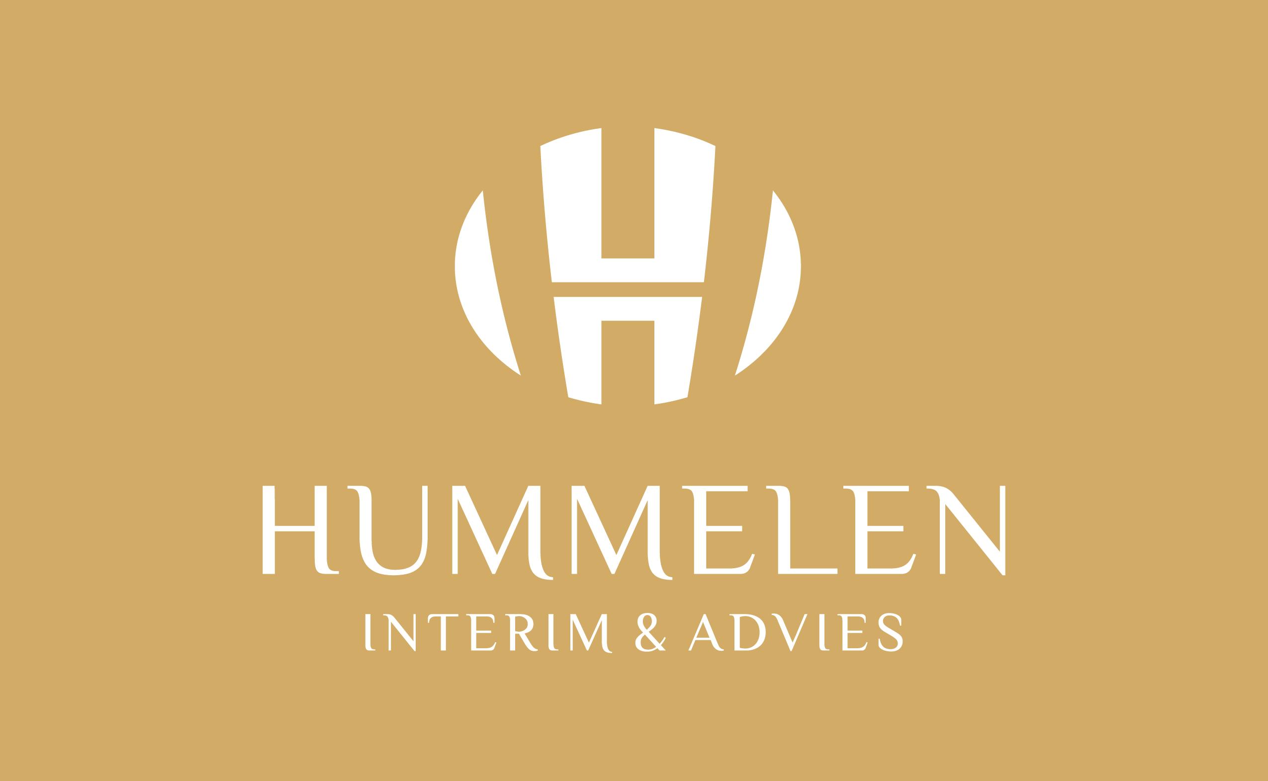 Ontwerp nu een logo voor een startend bedrijf: Hummelen