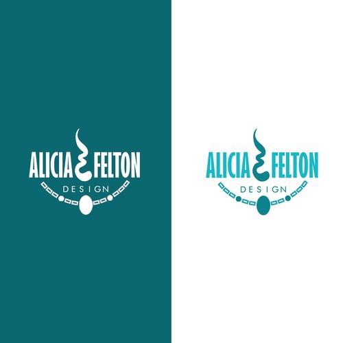 Design for Alicia Felton handmade accessories