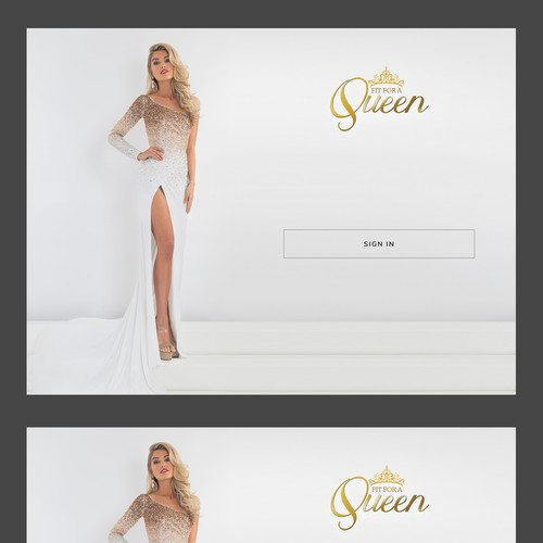 dress shop web app