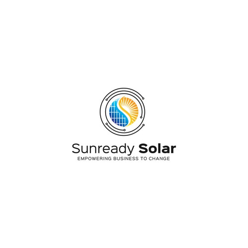 Bold Logo for Solar Cell Company