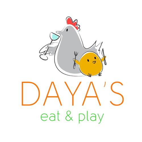 A simple logo for a restaurant