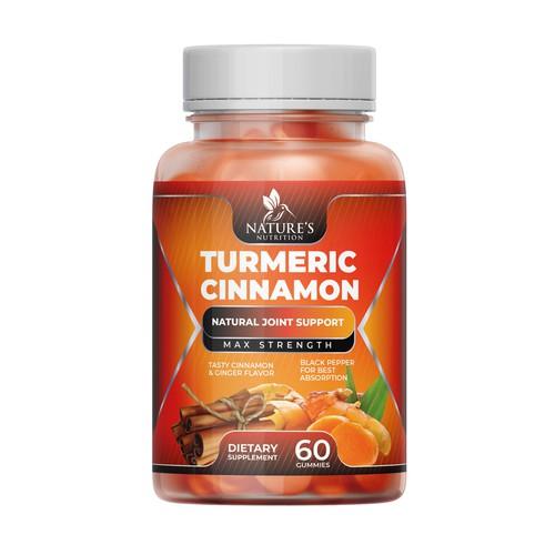 Tasty Turmeric Cinnamon Gummies design