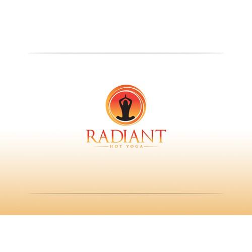 logo for Radiant Hot Yoga
