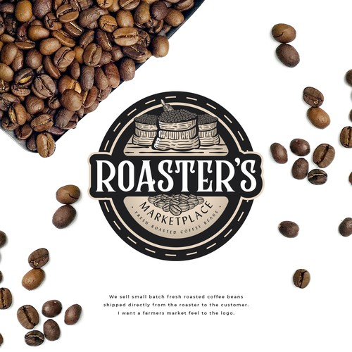 Roaster's Marketplace Logo