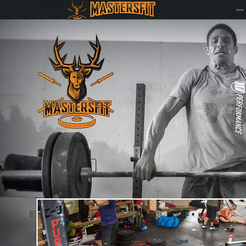 Crossfit gym Logo concept