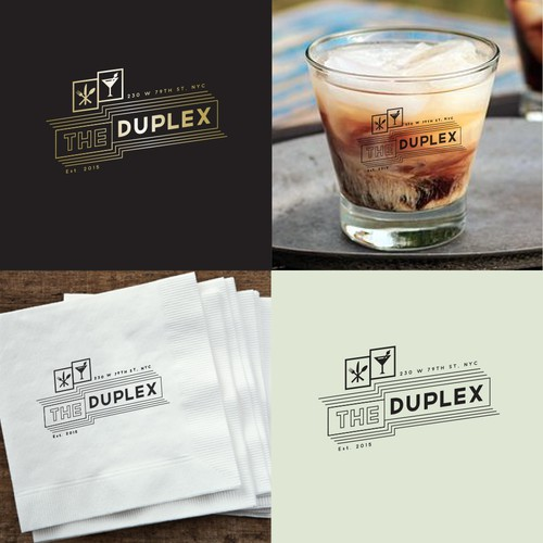 Hipster logo to take cocktail parties up a notch