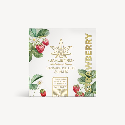 Packaging Design for Chic Organic Cannabis Edible Box