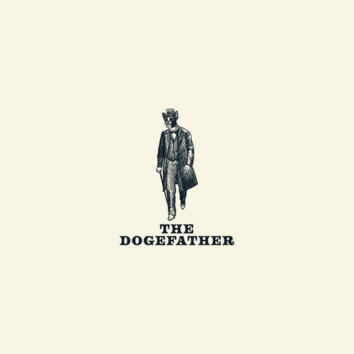 The Dogfather logo concept