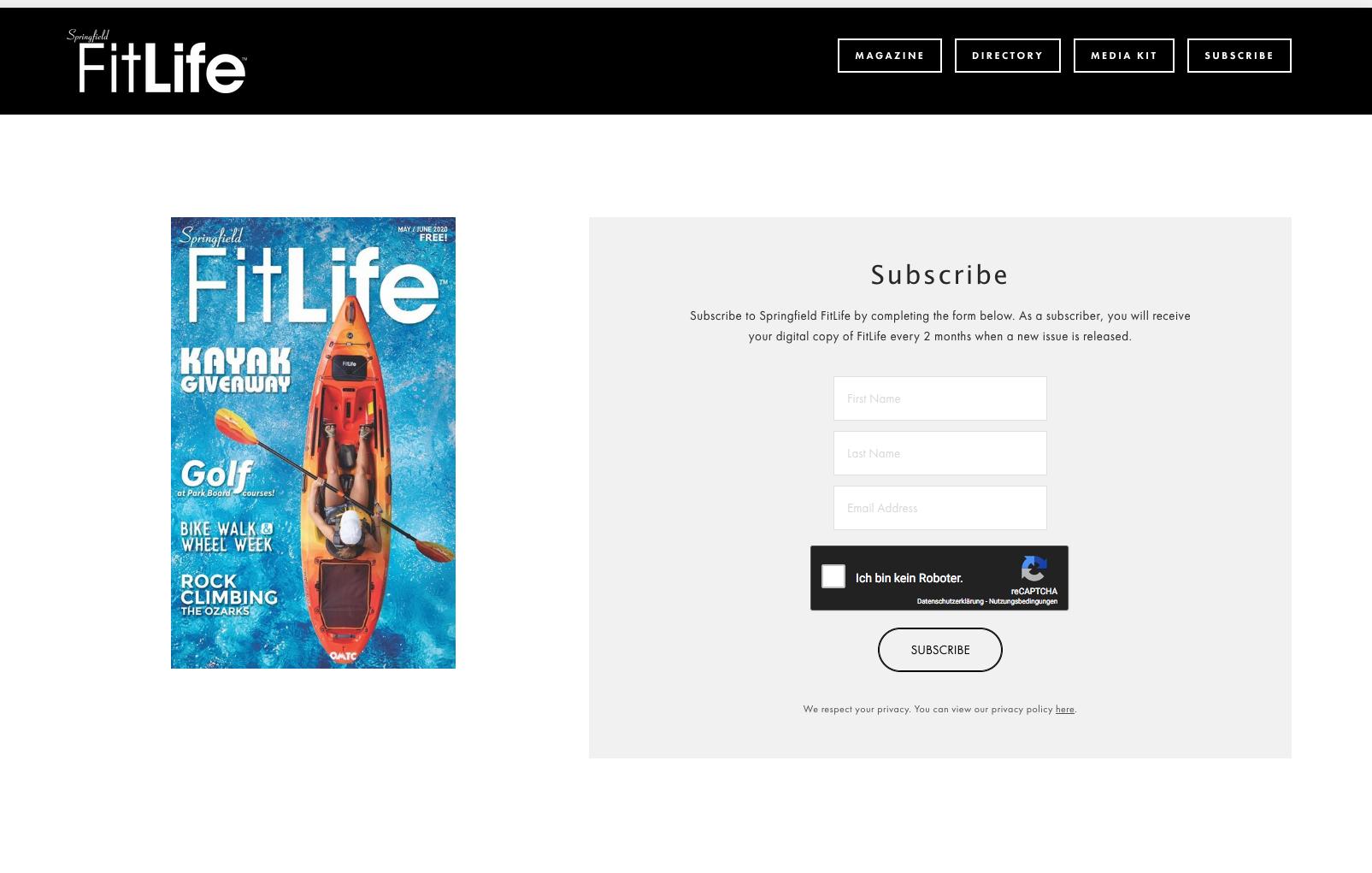 FitLife Magazine