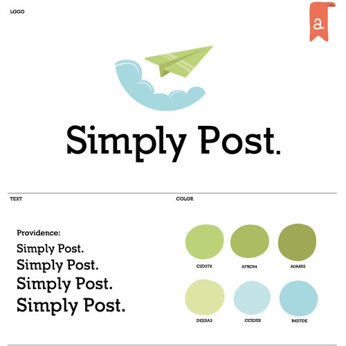 Logo for Simply Post.