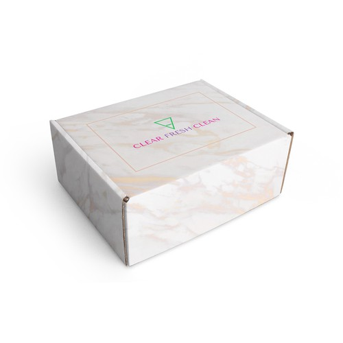 Mail Box packaging for skin care products
