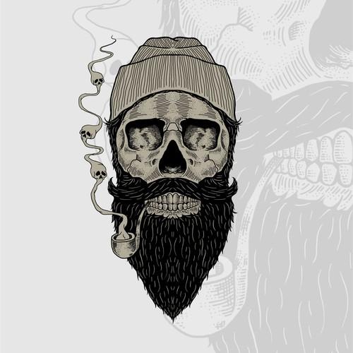 Beard Skull