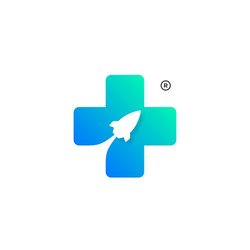 A simple fun and playful logo concept for Felix Healthcare Space