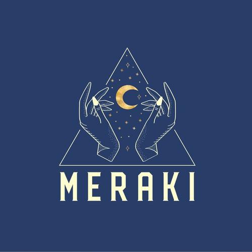 Logo Design for Techno Music Lovers - MERAKI