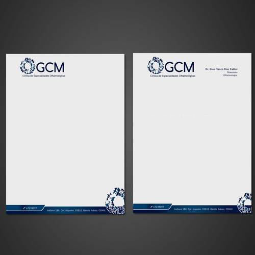 GCM's Letterhead
