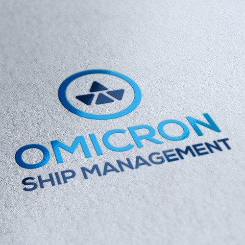 Create the next logo for OMICRON SHIP MANAGEMENT
