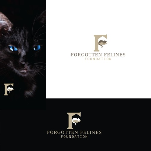 SOLD - Logo for felines foundation