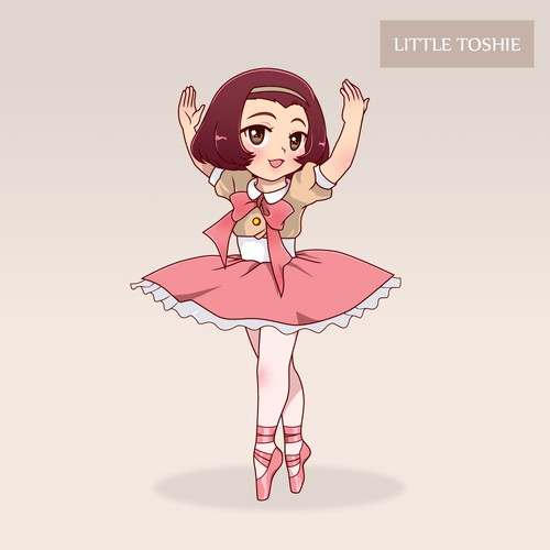 Little ballet dancer