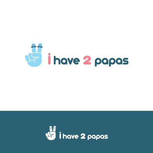 i have two papas logo
