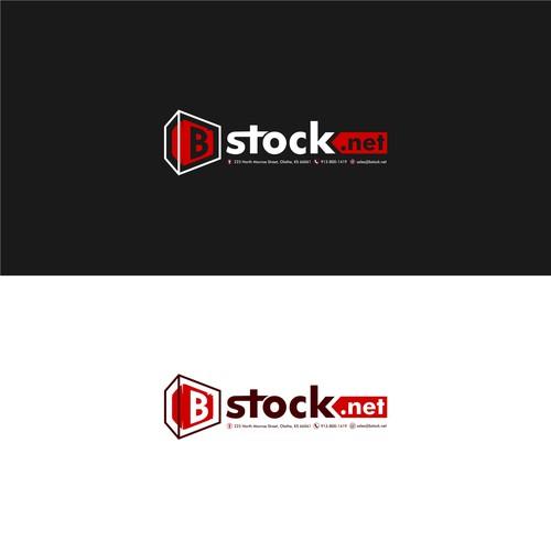 Bstock Logo Design