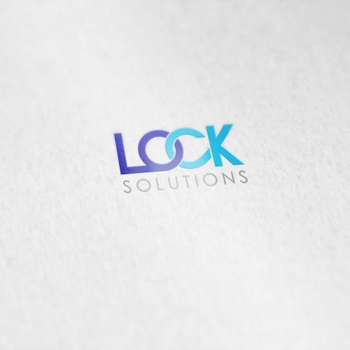 logo concept for locksmith