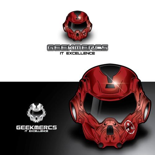 Logo design for Geekmercs