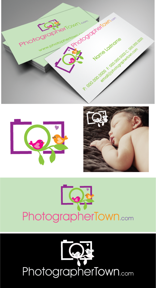 PhotographerTown.com needs a new logo