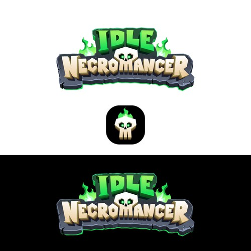 用于移动游戏的徽标