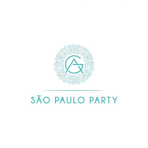 Elegant logo for a premium events company