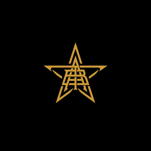 monogram logo concept