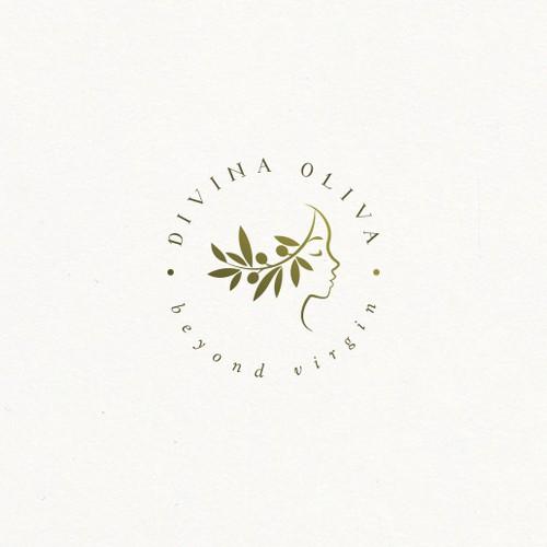 Divina Oliva | logo concept