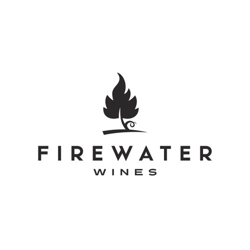 Logo for Firewater Wines.